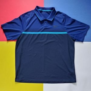2016 Nike Golf Blue Horizon Polo Shirt